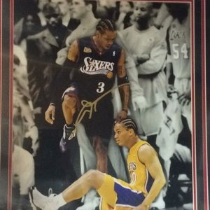 Allen Iverson Autograph Signed 76ers 16x20 Photo